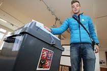 Druhé kolo prezidentských voleb 2018. Ilustrační foto.