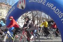 Start cyklovýletu Na kole mezi vinohrady