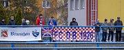 Dolní Benešov – Uherský Brod (v červeném) 0:1