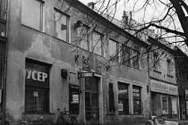 Dům č. 78 na Mariánském náměstí  ze 60. let 20. století.