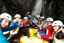 Malá skupinka kajakářů a kanoistek Ostrožské Nové Vsi v Chorvatsku našla ideální podmínky k tréninku.