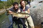 Soutěžní číslo 164 – Marie Szúcsová, losos, neměřen, 14,3 kg.