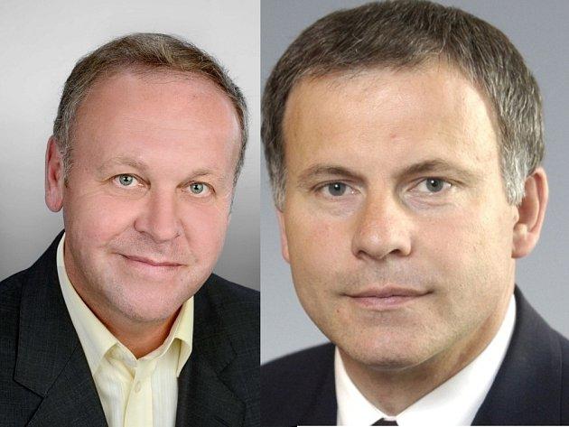 Zleva: Antonín Seďa, Ludvík Hovorka