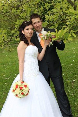 Soutěžní svatební pár číslo 43 -  Marcela a Radek Zvonkovi, Vlčková.