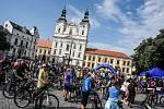 Na kole vinohrady startuje v sobotu 10. července tradičně na Masarykově náměstí v Uherském Hradišti.