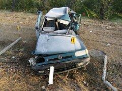 Páteční nehodu nepřežil dvaadvacetiletý řidič.