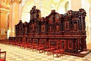 Hrozba zničení barokních chórových lavic červotočem byla zažehnána. Památka z přelomu 18. a 19. století se v bazilice Nanebevzetí Panny Marie a sv. Cyrila a Metoděje na Velehradě opět skví v plné kráse.
