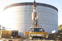 Biomasa bude hlavním palivem i v případě nové kunovické bioelektrárny (na snímku zahájení stavby).
