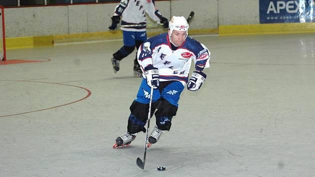Hradišťský Petr Sakrajda vstřelil Brnu i Olomouci po dvou brankách.