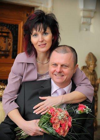 Soutěžní svatební pár číslo 18 - Martina a Martin Pešovi, Šternberk