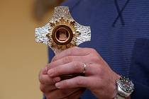 Relikvie, ostatky sv. Zdislavy v oblastní charitě v Uherském Brodě.