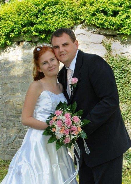 Soutěžní svatební pár číslo 15 - Lukáš a Kristýna Metelkovi, Troubky
