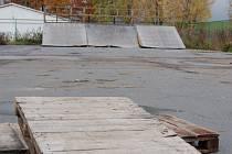 Skateboardové hřiště  možná už do roka nahradí dopravní hřiště pro cyklisty.