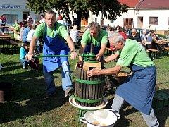 Návštěvníci sobotní odpolední akce v Huštěnovicích si přišli po všech stránkách na své.