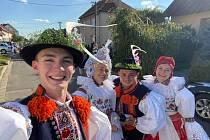 O posledním zářijovém víkendu se v Ostrožské Nové Vsi uskutečnily svatováclavské hody s právem.