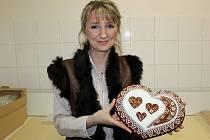 Perníkářka je nositelkou ocenění Tradiční výrobek Slovácka.
