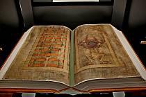 Ďáblova bible je k vidění na Velehradě.