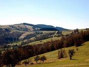 Krajina Bílých Karpat v okolí Vyškovce. Ilustrační foto.