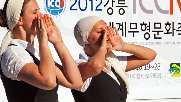 Hradišťan v Jižní Koreji.