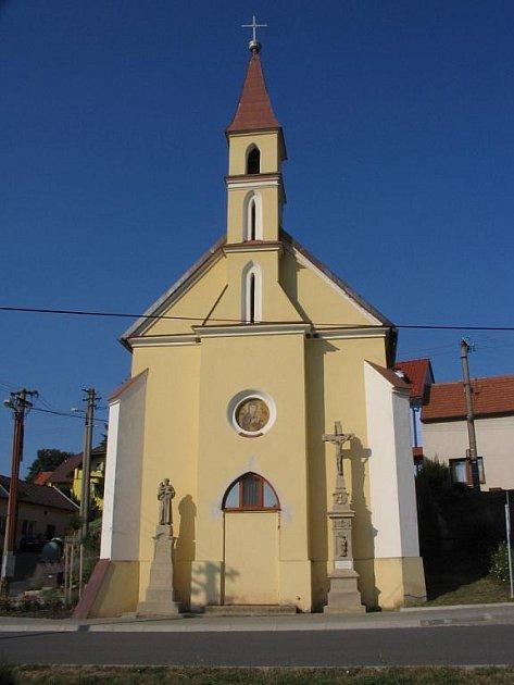 Kaple Nejsvětější Trojice v Mistřicích.