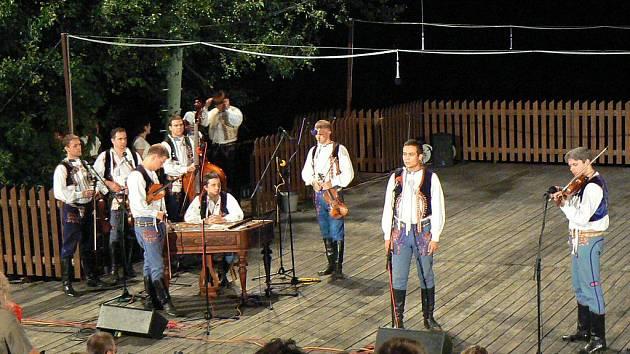 Musica Folklorica na Horňáckých slavnostech.