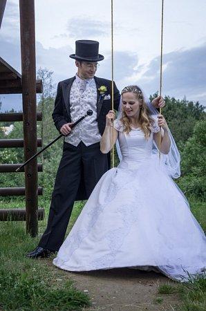 Soutěžní svatební pár číslo 45 - Kateřina a Radek Leszczynski, Olomouc.