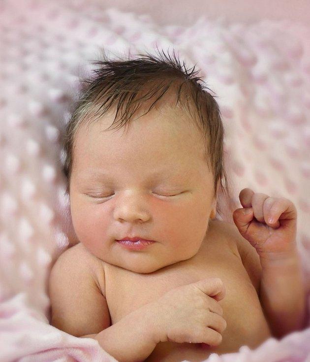Tereza Černá, Kyjov, narozena 20. února 2021 v Uherském Hradišti, míra 50 cm, váha 3370 g