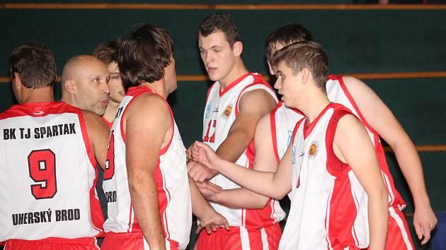 basketbal Uherský Brod. Ilustrační foto