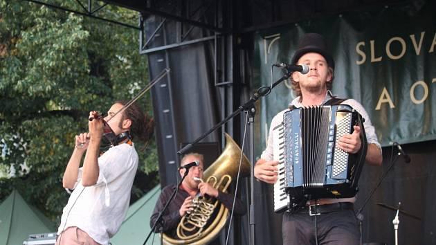 Circus Problem zahrál balkánské rytmy.