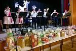 Ples seniorů v Dolním Němčí se nesl ve folklorním duchu.