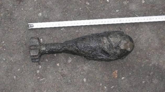 Dělostřelecký granát. Ilustrační foto.