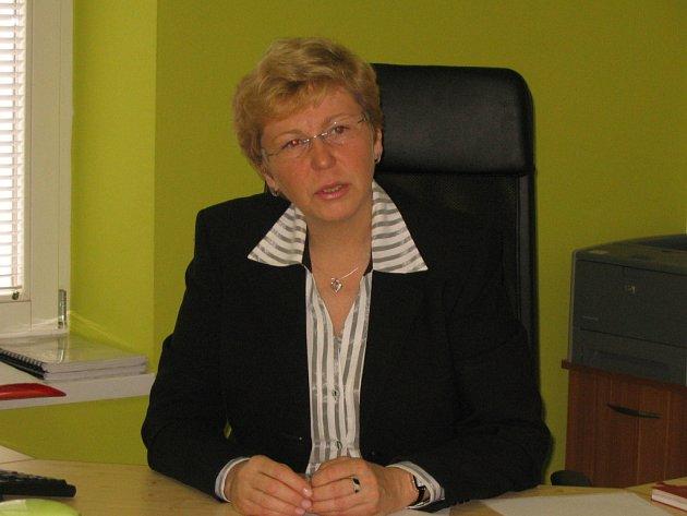 Senátorka Hana Doupovcová.