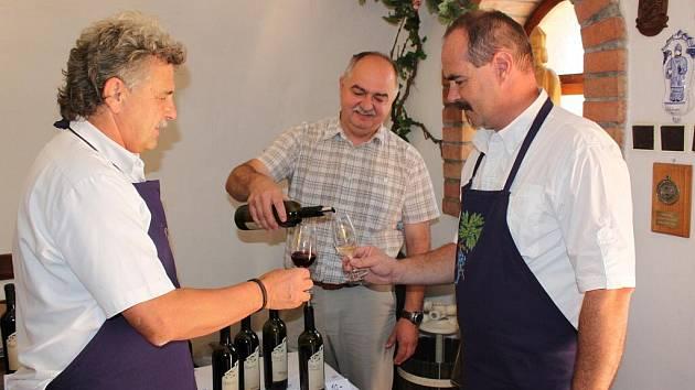 Slavnosti vína a zarážení hory v Kudlovicích