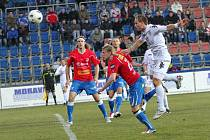 Slovácko (v bílém) proti Plzni