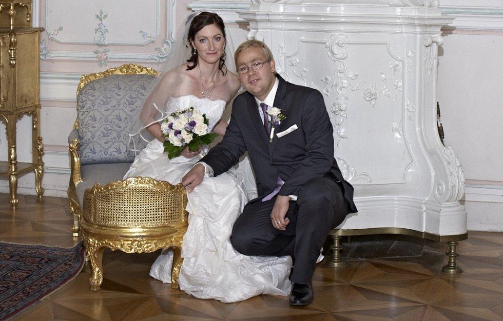 Soutěžní svatební pár číslo 261 - Jakub a Marie Vaníčkovi, Olomouc.