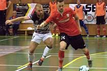 Futsalisté Bazooka Uherské Hradiště (vlevo). Ilustrační foto
