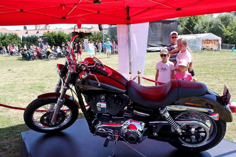 Harley-Davidson Dyna Super Glide papeže Františka na Velehradě