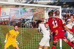 Utkání MSFL mezi FC Velké Meziříčí a 1. FC Slovácko B.