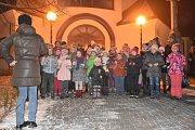 Česko zpívá koledy v Suché Lozi, 14. 12. 2016.