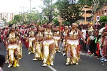Karneval 2014 na ostrově Martinik.