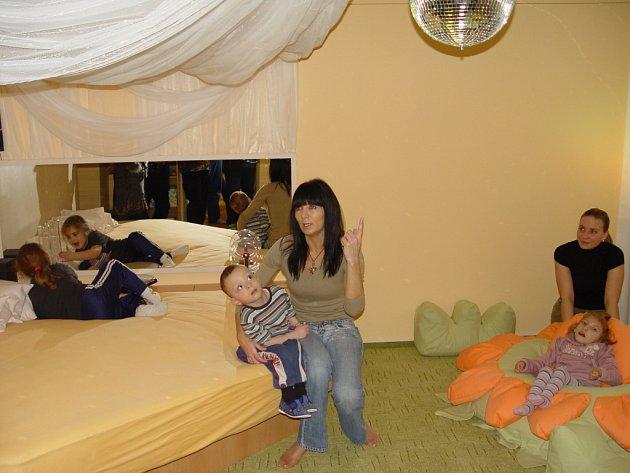 Snoezelenová místnost působí podle odborníků výrazně pozitivně na psychiku dětí.