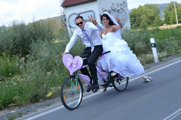 Soutěžní svatební pár číslo 158 - Vendula a Radek Veselí, Šumperk
