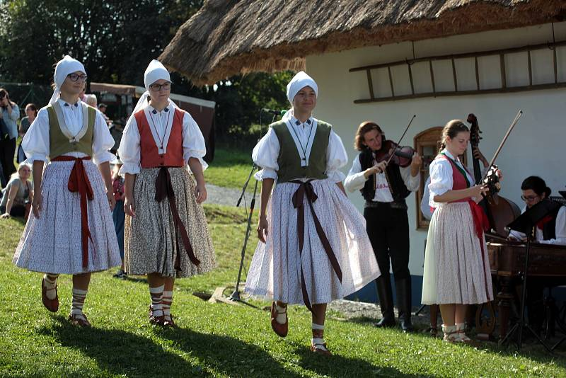 7. ročník Slováckého festivalu chutí a vůní.Skanzen Rochus.