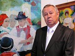 Řídím se heslem přírodu miluj vždy a všude, říká osmdesátiletý malíř Zdeněk Hudeček.