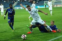 1. FC Slovácko - FC Vysočina Jihlava. Ilustrační foto.