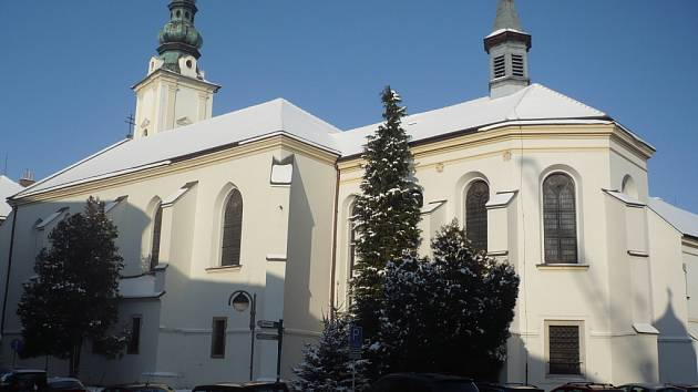 """Projekt """"Otevřené brány"""" počítá s častější provozní dobou kostelů. Týkalo by se to i františkánského kostela (na snímku)."""