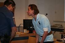 Obžalovaný Martin Petrucha se omluvil oběti. Chtěl by zůstat ve vazbě, aby se nedostal k alkoholu.
