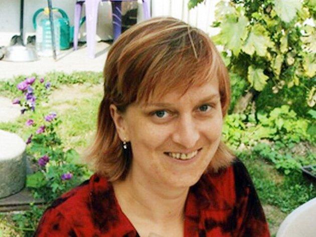Pohřešovaná Alžběta Vrbová.