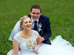 Soutěžní svatební pár číslo 107 - Barbora a Michal Borákovi, Valašské Meziříčí