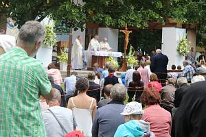 Pouť na Blatnickou horu ke kapli sv. Antonína Paduánského, 13. června 2021.